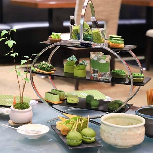 ANAインターコンチネンタルホテル東京の抹茶アフタヌーンティー