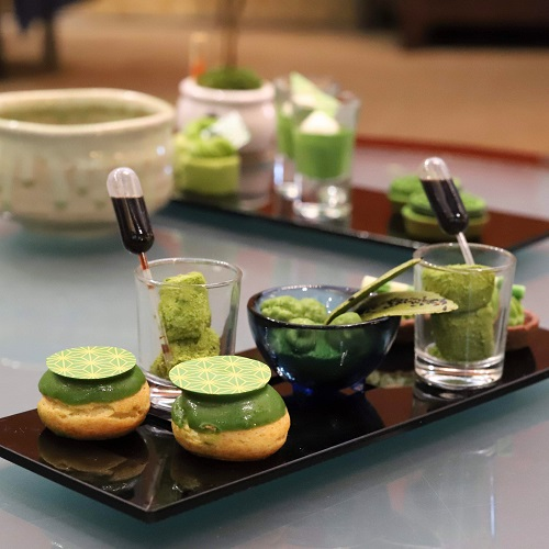 ANAインターコンチネンタルホテル東京の抹茶アフタヌーンティー 2段目