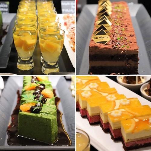 ウェスティンホテル東京『ザ・テラス』抹茶デザートビュッフェ2019(通常デザート2)