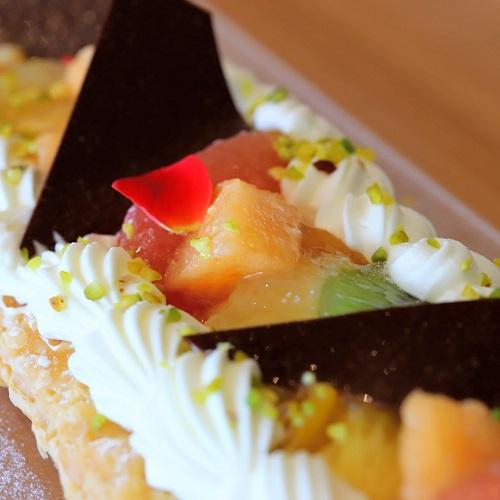 ヒルトン東京お台場 シースケープのデザートビュッフェ(最高級メロン)