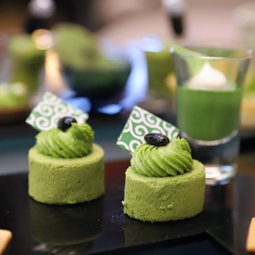 ANAインターコンチネンタルホテル東京の抹茶アフタヌーンティー ロールケーキ