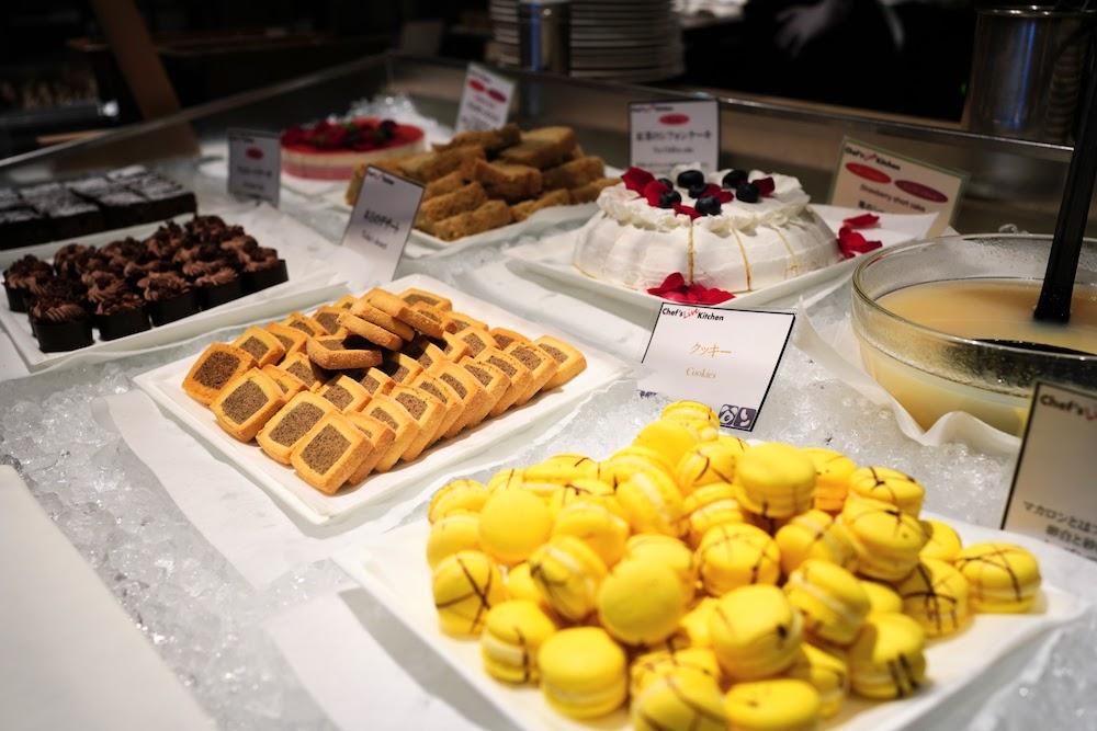 インターコンチネンタル東京ベイ「シェフズライブキッチン」のデザートビュッフェ|デザートコーナー