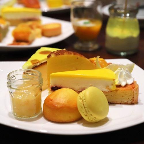 ヒルトン東京 マーブルラウンジのスイーツビュッフェ(デザート盛り合わせ3)