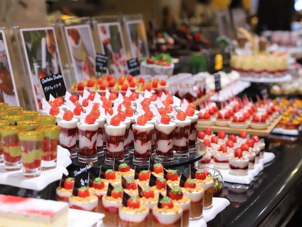 ウェスティンホテル東京のスイーツビュッフェ|いちご2020