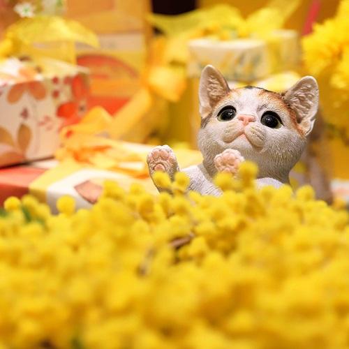 ヒルトン東京 マーブルラウンジのスイーツビュッフェ(猫)