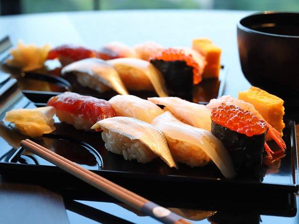 ホテルニューオータニ「ザ・スカイ」ビュッフェ(お寿司)