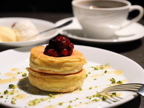 ホテルニューオータニ「ザ・スカイ」ビュッフェ(ニューオータニ特製パンケーキ)