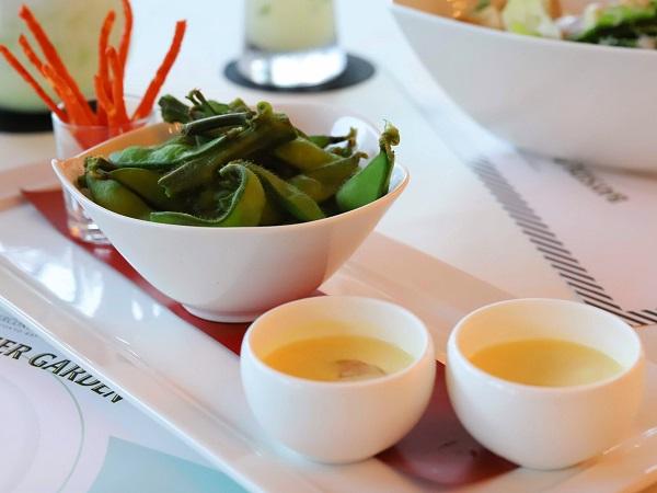インターコンチネンタル東京ベイのビアガーデン 前菜
