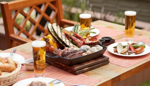 グランドニッコー東京 台場「GARDEN DINING」のGARDEN BBQ