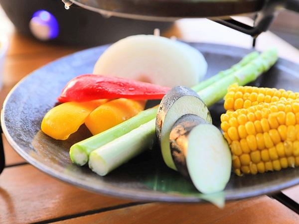 ヒルトン東京お台場「アブレイズ」BBQビアガーデン(フレッシュ野菜)
