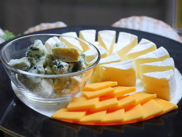 ホテルニューオータニ「トレーダーヴィックス」のブランチビュッフェ(チーズ)