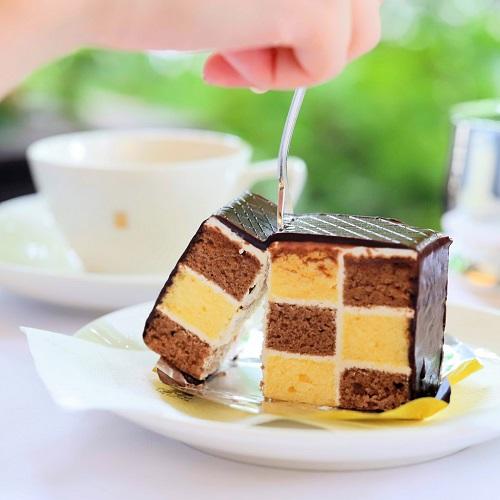 銀座ウエスト青山ガーデン ケーキセット