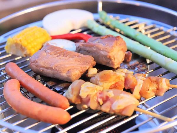 ヒルトン東京お台場「アブレイズ」BBQビアガーデン(野菜)
