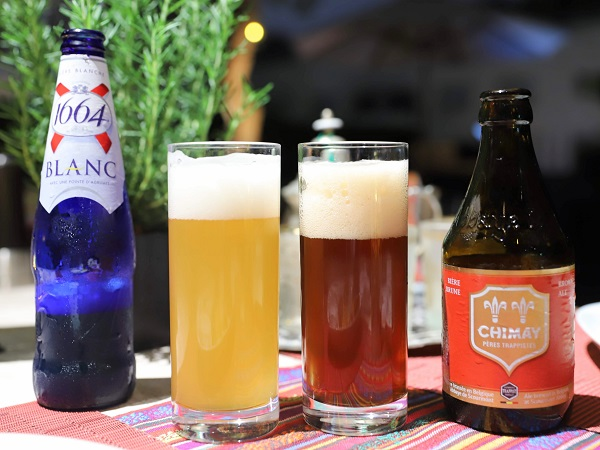 グランド ハイアット 東京(フレンチ キッチン)のバーベキュー テラス(ビール)