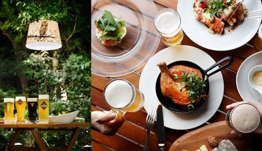 ホテル雅叙園東京のフォレスト ビアテラス|Cafe & Bar「結庵」