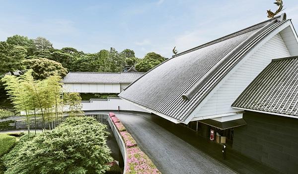 ホテル雅叙園東京のランチビュッフェ|外観