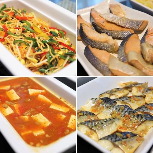 ホテルグレイスリー銀座の朝食ビュッフェ(焼き魚)