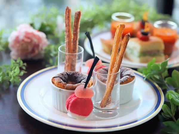 新横浜プリンスホテルのアフタヌーンティー|バスク風チーズケーキ
