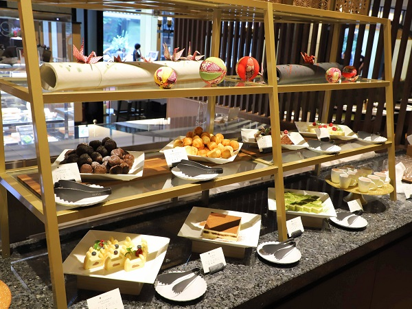 ホテル雅叙園東京のランチビュッフェ|デザート