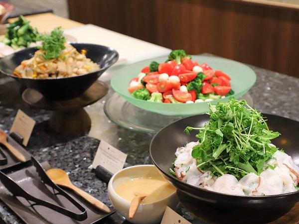 ホテル雅叙園東京のランチビュッフェ|前菜
