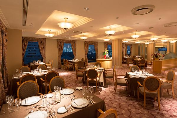 ホテルグランドパレス|クラウンレストラン(フランス料理)