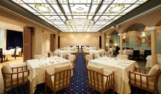 ホテル雅叙園東京|リストランテ カノビアーノ