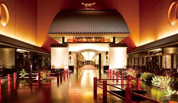 ホテル雅叙園東京のランチビュッフェ|内観