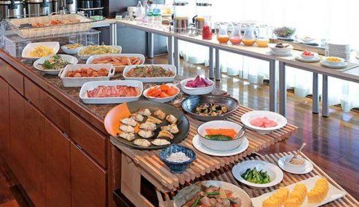 ホテルグレイスリー銀座の朝食ブッフェ|ボンサルーテ