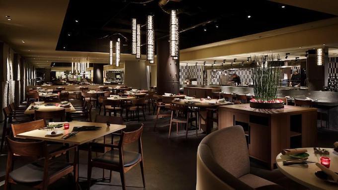 品川プリンスホテルのレストラン いちょう坂