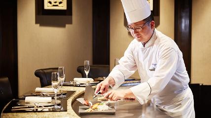ホテルインターコンチネンタル東京ベイのランチレストラン|鉄板焼 匠