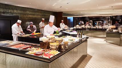 ホテルインターコンチネンタル東京ベイのランチレストラン|シェフズライブキッチン