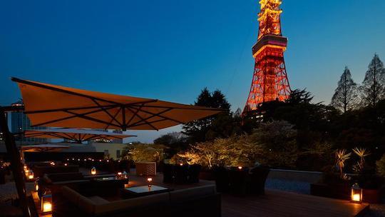 東京プリンスホテル|タワービューテラス(カフェ&バー)