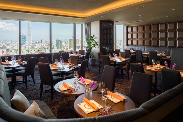 浅草ビューホテル|THE DINING シノワ 唐紅花&鉄板フレンチ 蒔絵(鉄板フレンチ・中国料理 27F)