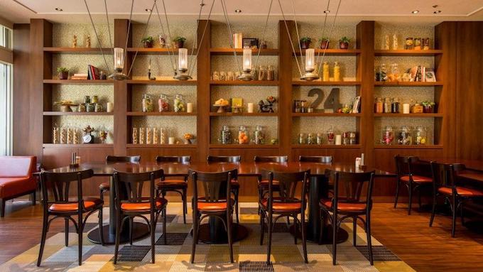 品川プリンスホテルのレストラン カフェレストラン24