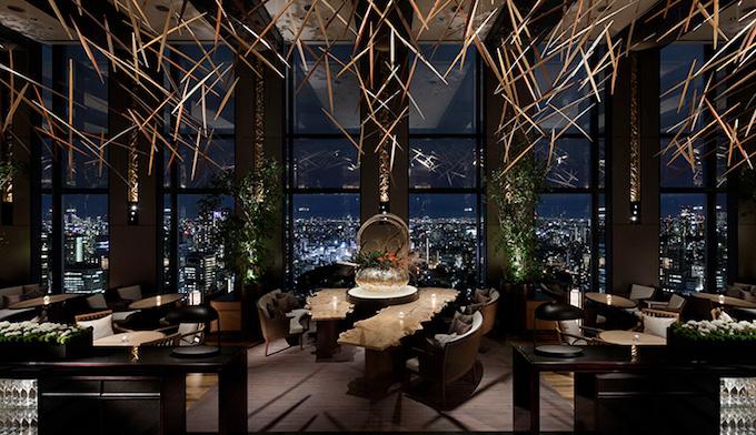品川プリンスホテルのレストラン テーブル9