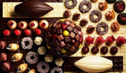 【チョコの祭典】シャンパン・バーのスイーツブッフェ(ANAインターコンチネンタルホテル東京)