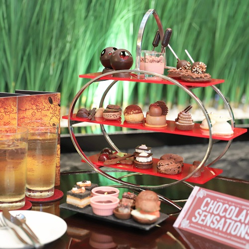 ANAインターコンチネンタルホテル東京のアフタヌーンティー(チョコレート2019)