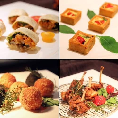 シェラトン都ホテル東京「カフェ カリフォルニア」のデザートブッフェ(セイボリー)