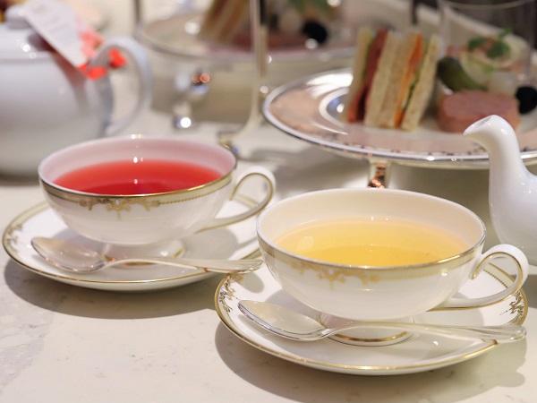 横浜ベイシェラトン「シーウインド」のアフタヌーンティー(ロンネフェルト紅茶)