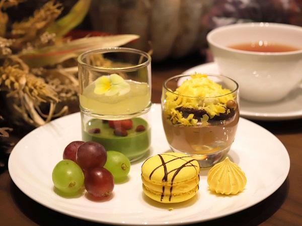 横浜ベイシェラトン「シーウインド」のナイトスイーツビュッフェ(皿盛り2)