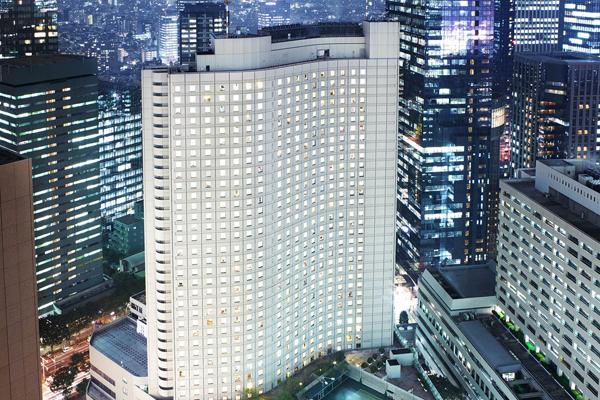 ヒルトン東京「マーブルラウンジ」のいちごスイーツ&ランチビュッフェ|外観