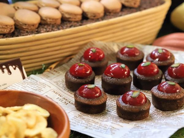 ANAインターコンチネンタルホテル東京のスイーツブッフェ「チョコレートセンセーション2019」