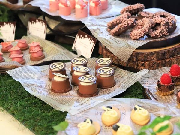 ANAインターコンチネンタルホテル東京のチョコレートスイーツブッフェ|シャンパンバー