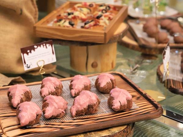 ANAインターコンチネンタルホテル東京のスイーツブッフェ「チョコレートセンセーション2019」シャンパンバー(セイボリー)