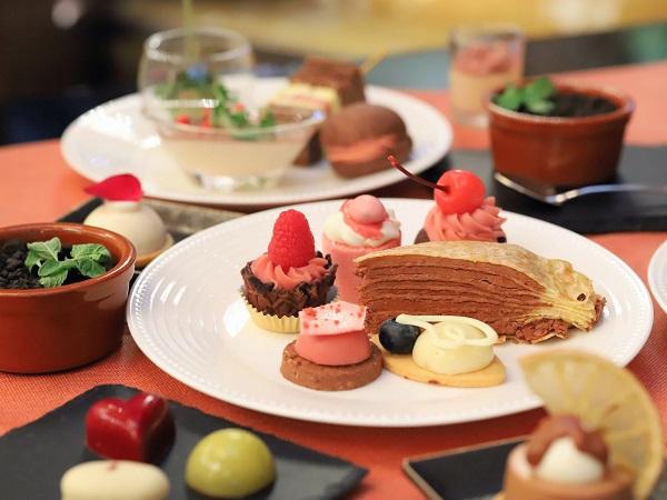 ANAインターコンチネンタルホテル東京のスイーツビュッフェ「チョコレートセンセーション2019」シャンパン・バー
