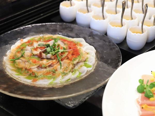グランドプリンスホテル新高輪|ザクロ品川の前菜