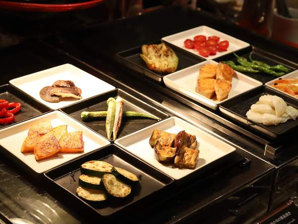 東京プリンスホテル|ポルトのブッフェ(海鮮・東京野菜)