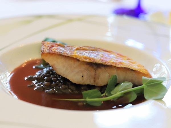 グランドプリンスホテル高輪「ル・トリアノン」魚