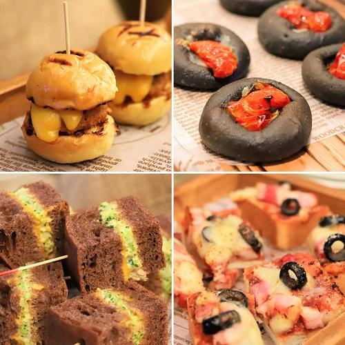 ANAインターコンチネンタルホテル東京のスイーツブッフェ「チョコレートセンセーション2019」軽食