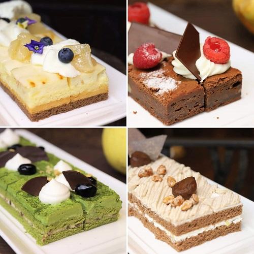 リッツカールトン大阪のランチブッフェ(ケーキ)